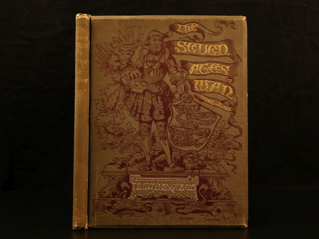 1885 Shakespeare Seven Ages of Man As You Like it