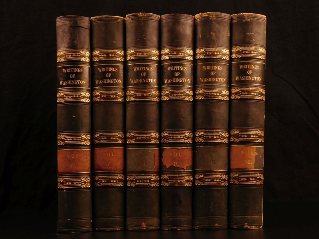 1833 Writings of George Washington Presidential Speech