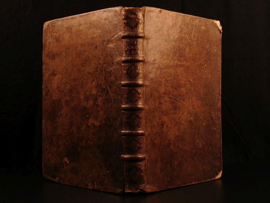 1684 BIBLE Commentary of Dutch Willem Hessels van EST