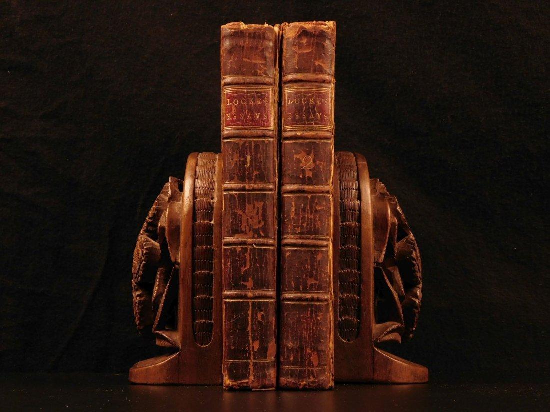 1760 John LOCKE Essay Concerning Human Understanding