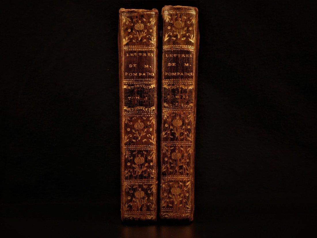 1774 Madame de Pompadour Louis XV Letters