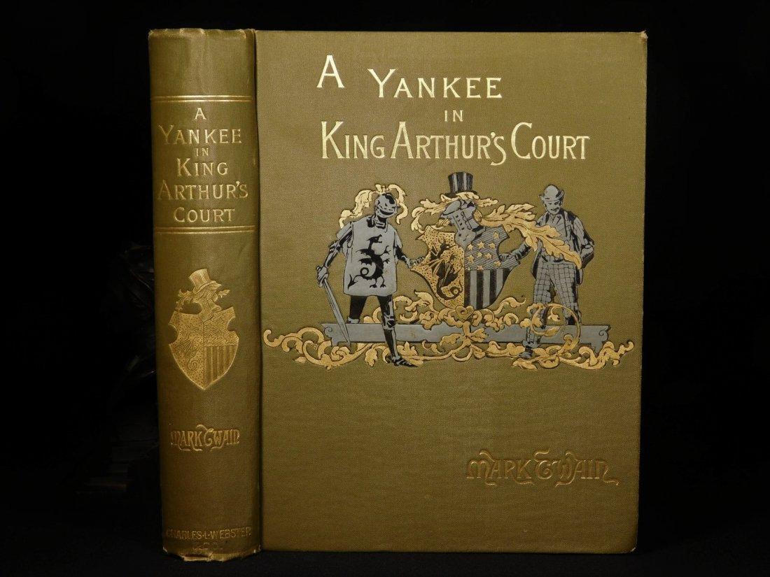 1889 1st ed Mark TWAIN Connecticut Yankee