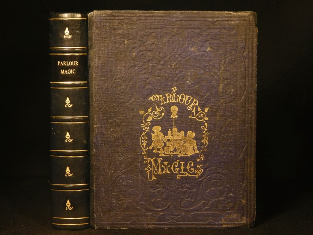 1853 Parlour Magic Tricks Experiments Sleight of Hand