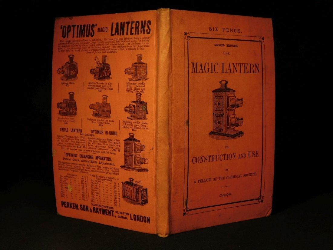 1890 Magic Lantern Hollywood Film Movies precursor