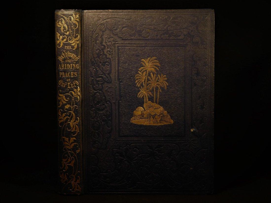 1851 Pathways of Jesus Illustrated HOLY LAND Travelogue