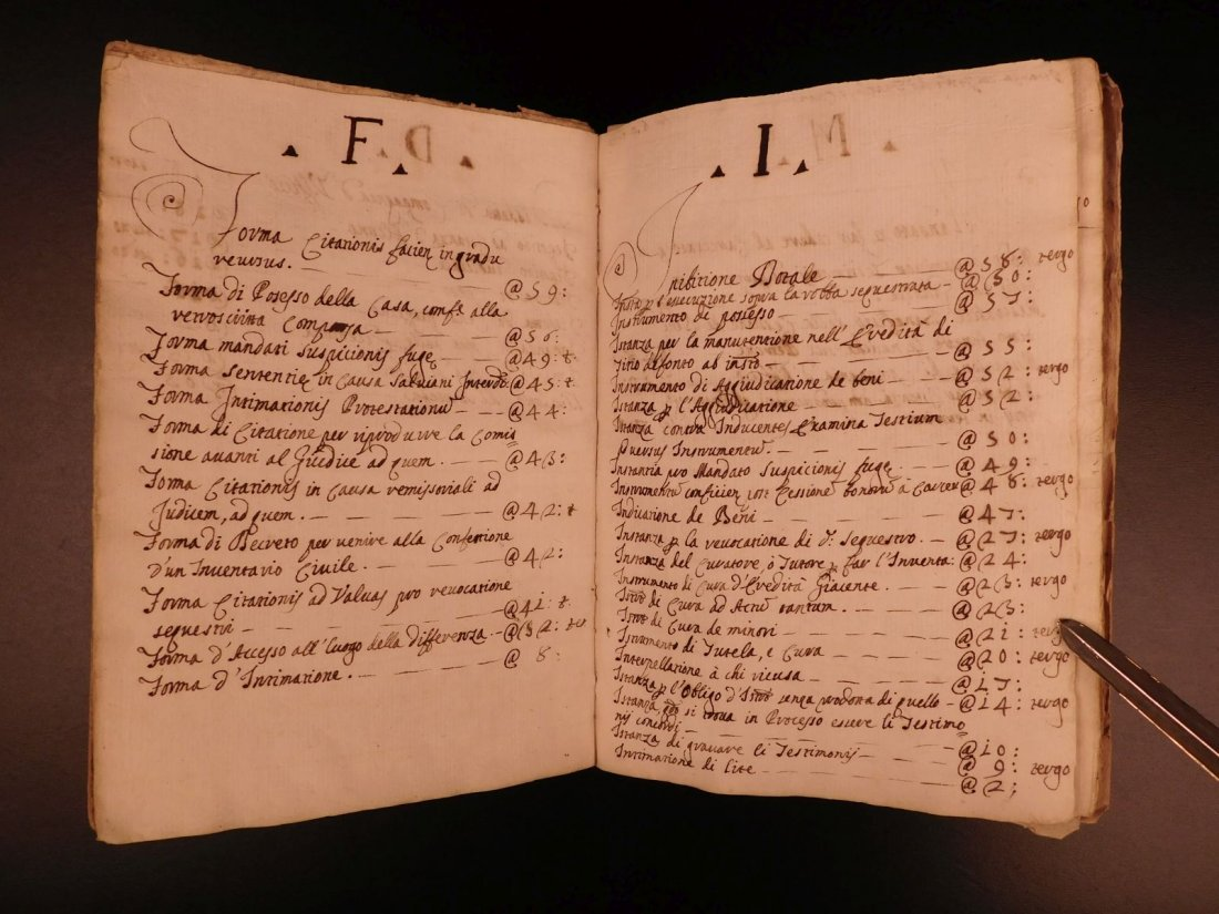 1740 LAW Handwritten Manuscript Praxis Civilis Civil - 4