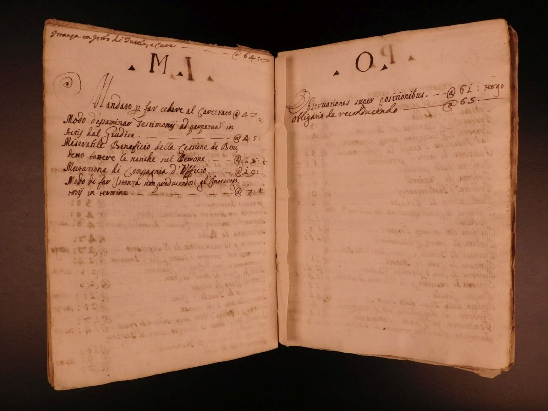 1740 LAW Handwritten Manuscript Praxis Civilis Civil - 5