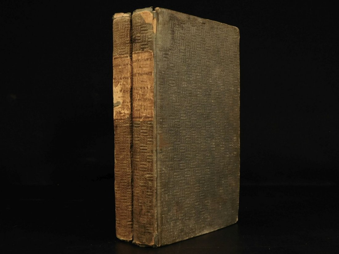 1836 1st ed Elkswatawa Native American INDIANS Slaves