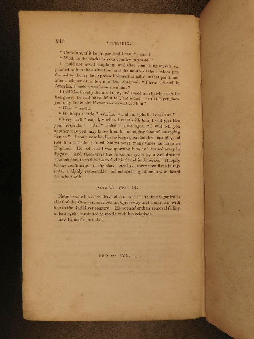 1836 1st ed Elkswatawa Native American INDIANS Slaves - 7