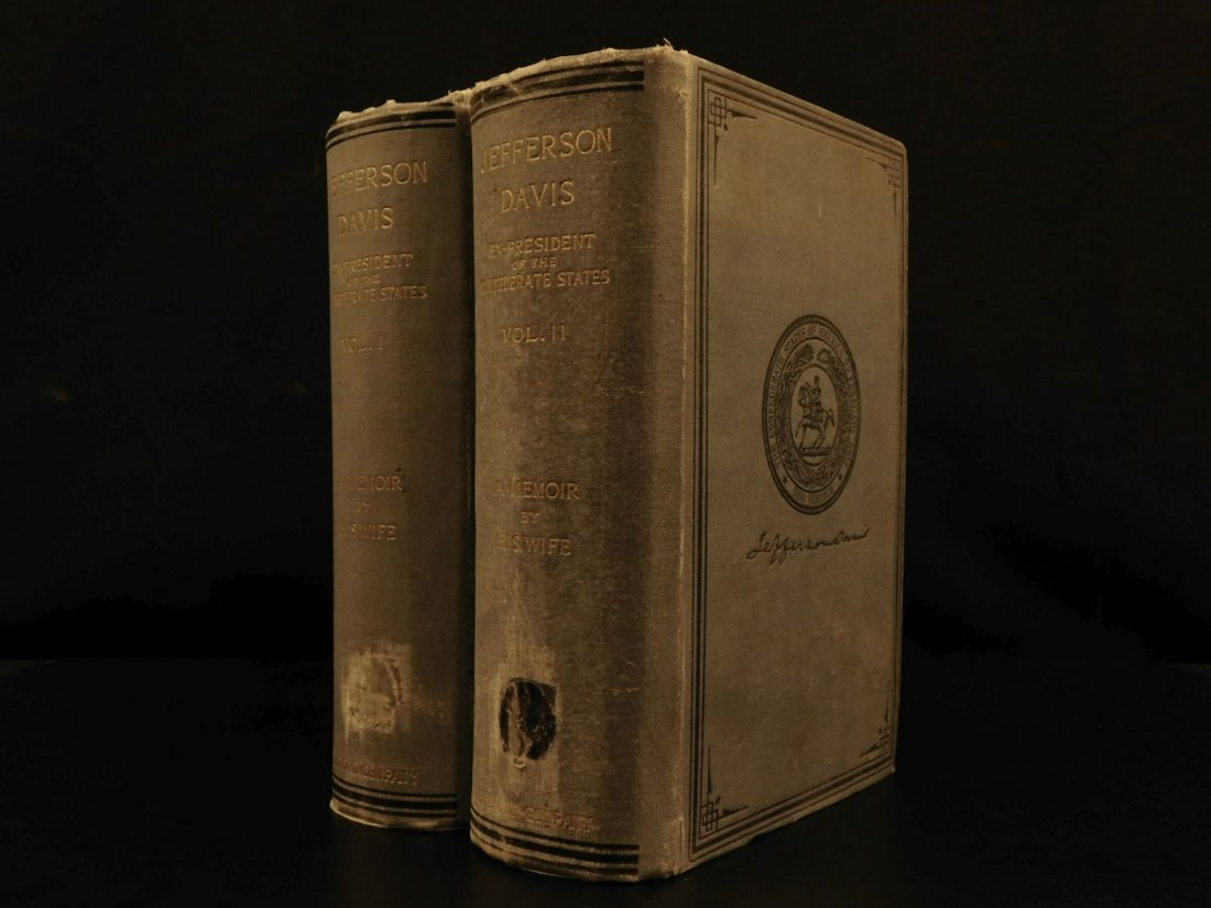 1890 1st Memoir Jefferson Davis Civil War Confederate