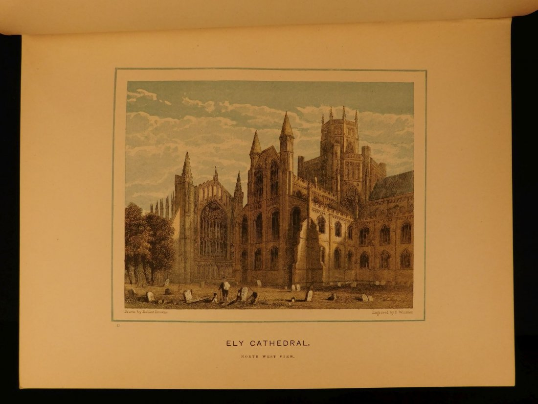 1887 1st British Cathedrals Architecture Illustrated - 10
