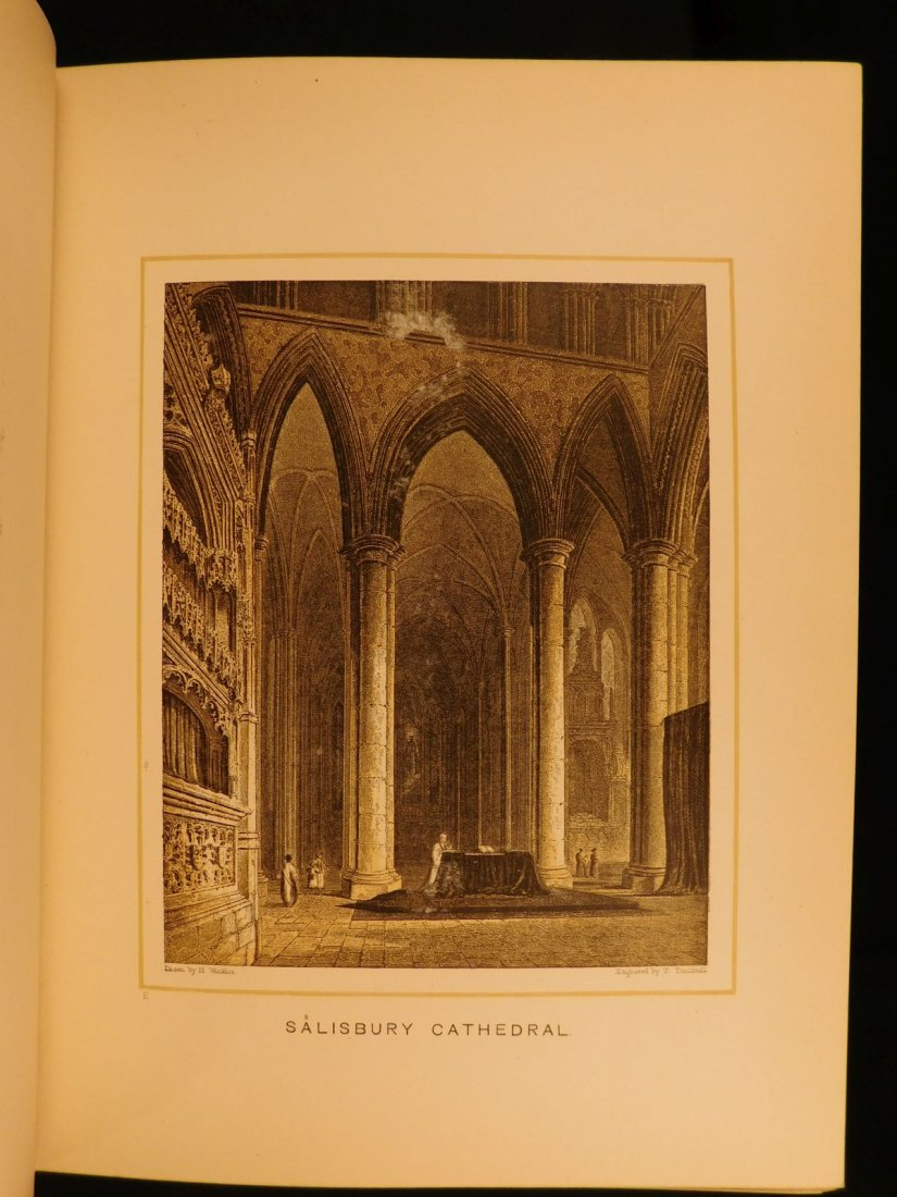 1887 1st British Cathedrals Architecture Illustrated - 7
