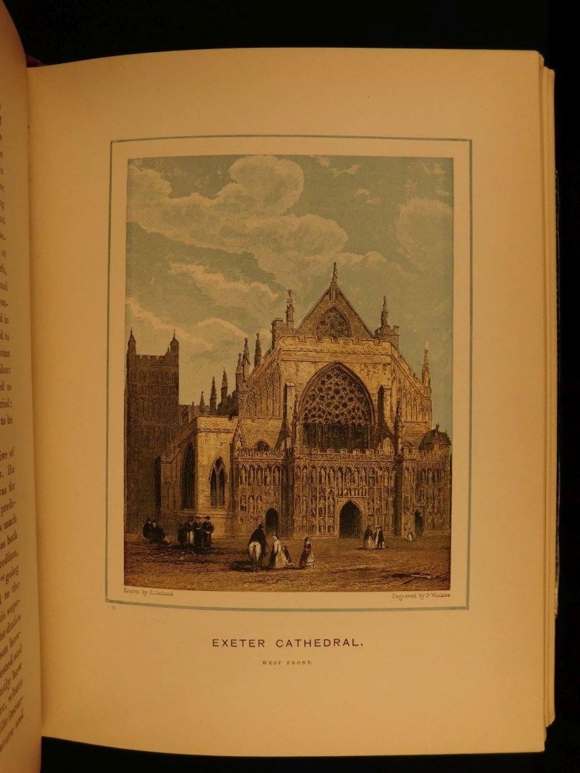 1887 1st British Cathedrals Architecture Illustrated - 9