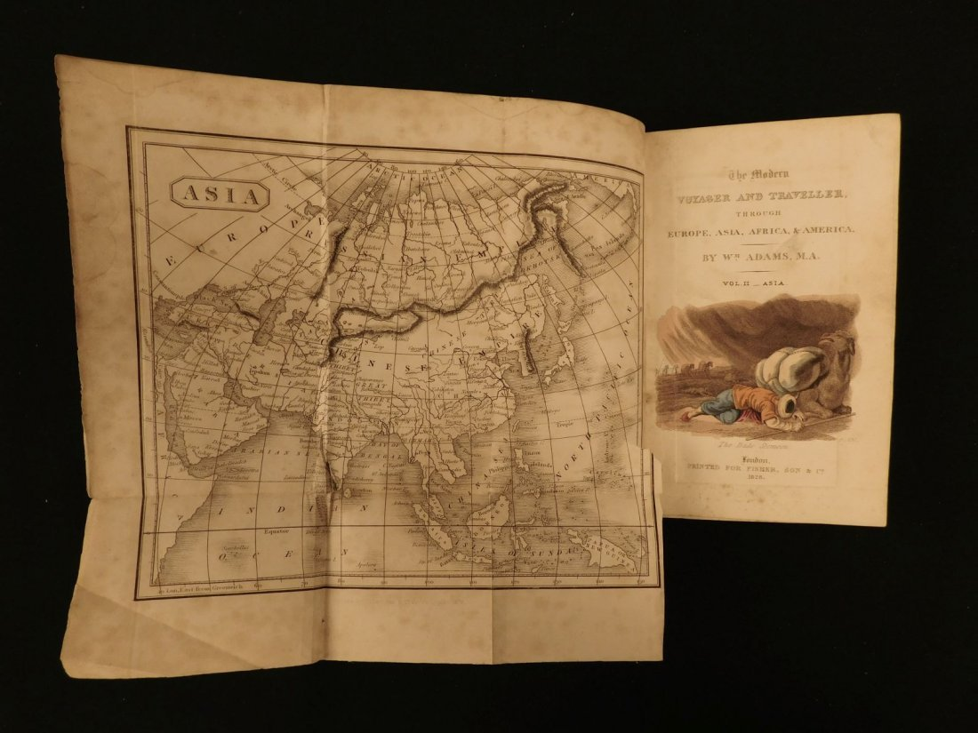 1828 1ed VOYAGES ASIA Africa China Superstitions SLAVER - 10