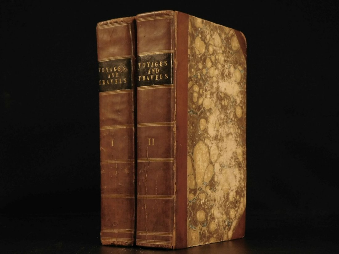 1828 1ed VOYAGES ASIA Africa China Superstitions SLAVER
