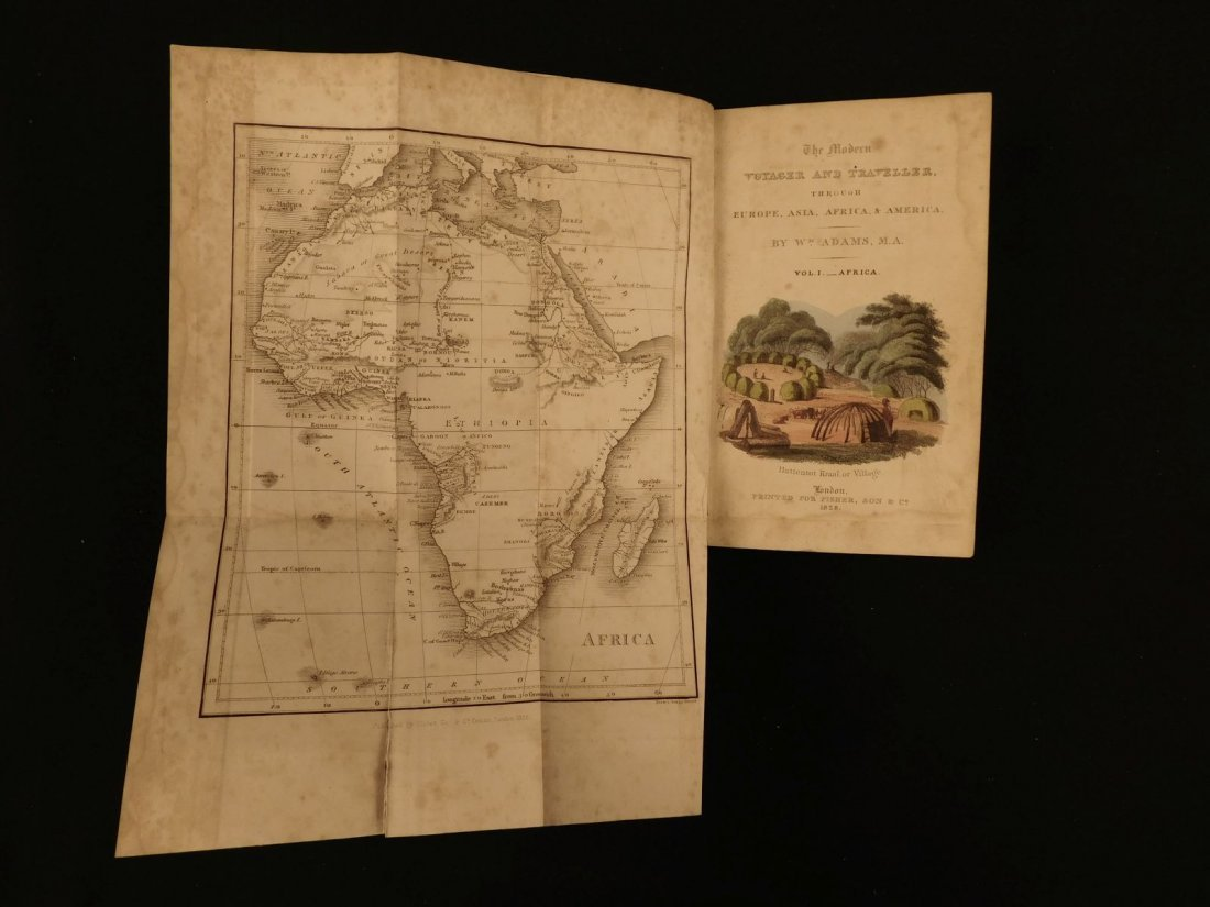 1828 1ed VOYAGES ASIA Africa China Superstitions SLAVER - 2