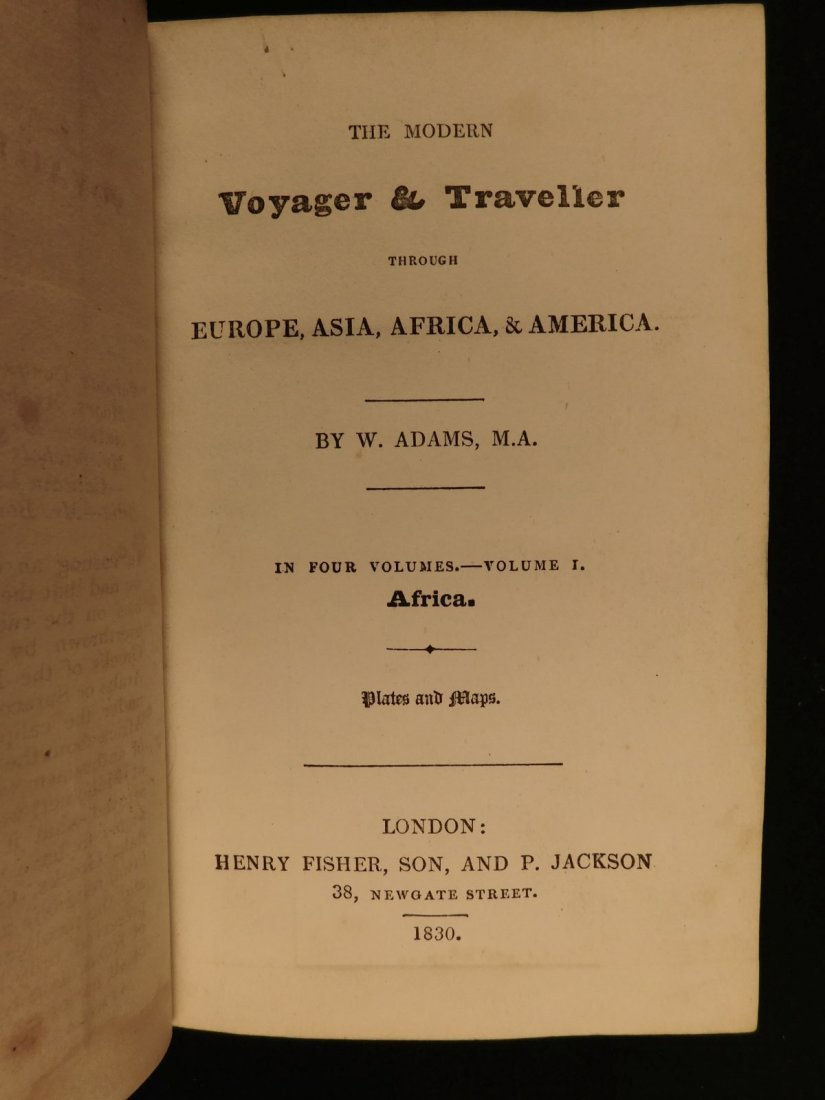 1828 1ed VOYAGES ASIA Africa China Superstitions SLAVER - 3