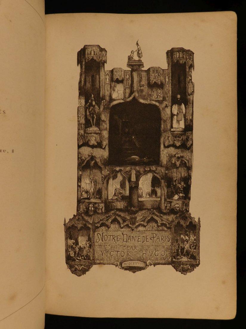 1890 Hunchback of Notre Dame de Paris Victor Hugo I - 3