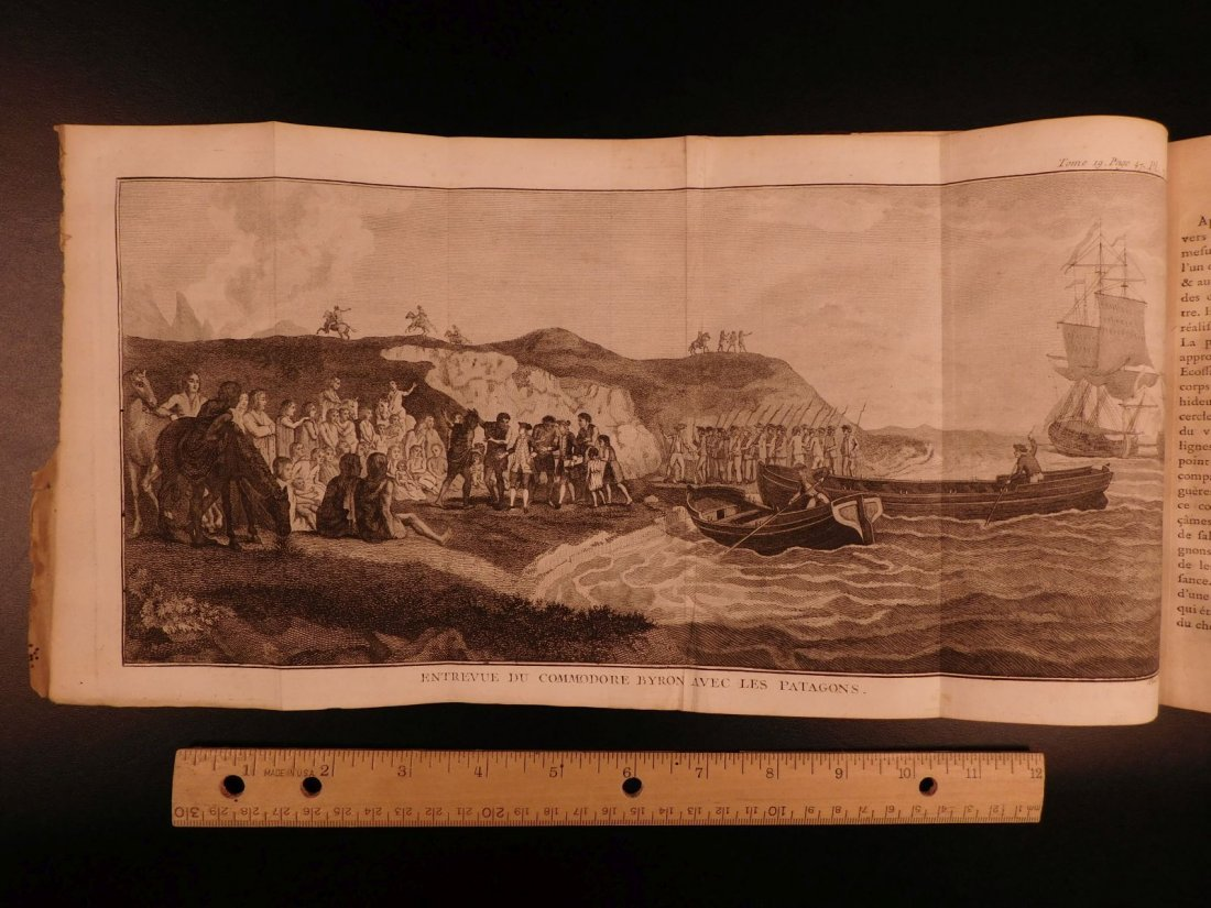 1780 1ed VOYAGES Captain Cook Maps Comm Byron America - 5