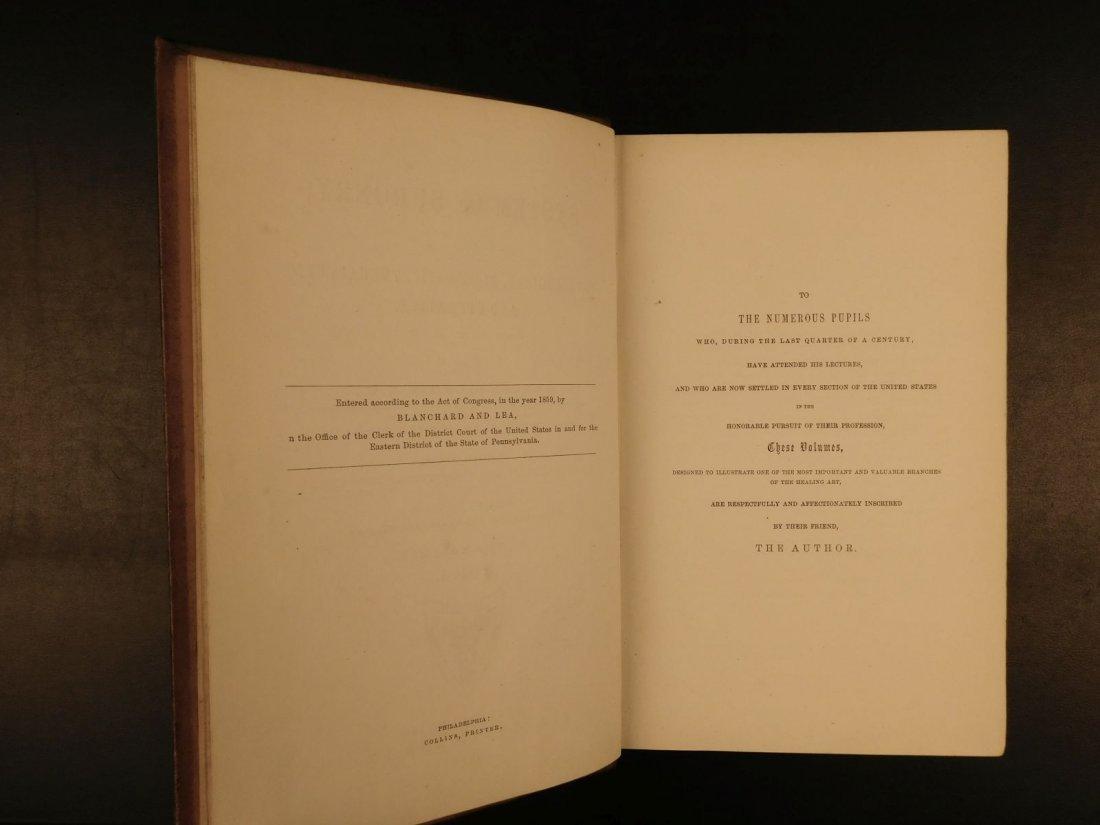1862 GROSS Anatomy & Surgery Civil War Surgeon OWNED Me - 3