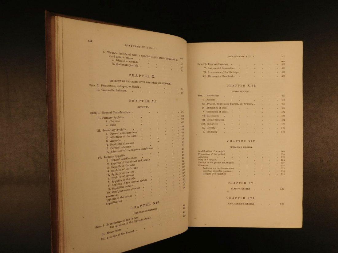 1862 GROSS Anatomy & Surgery Civil War Surgeon OWNED Me - 5
