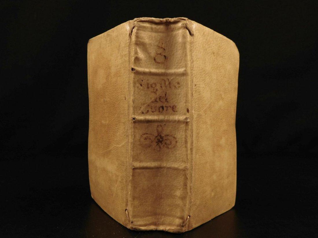 1723 EMBLEMS & Italian Woodcuts Luigi Novarini Catholic