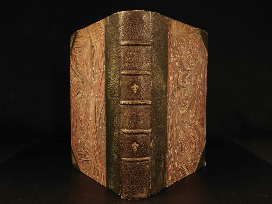 1850 1st ed France and Its Revolutions Illustrated