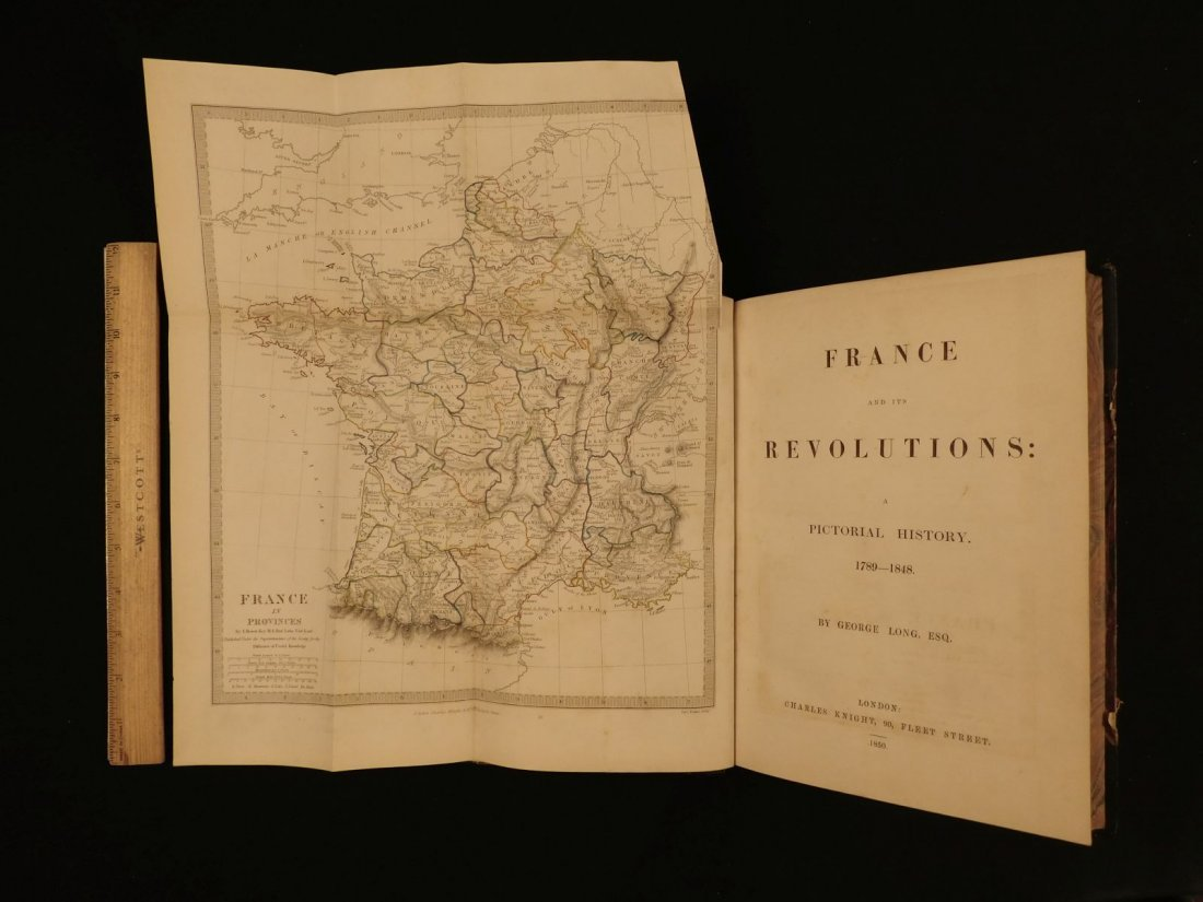 1850 1st ed France and Its Revolutions Illustrated - 2