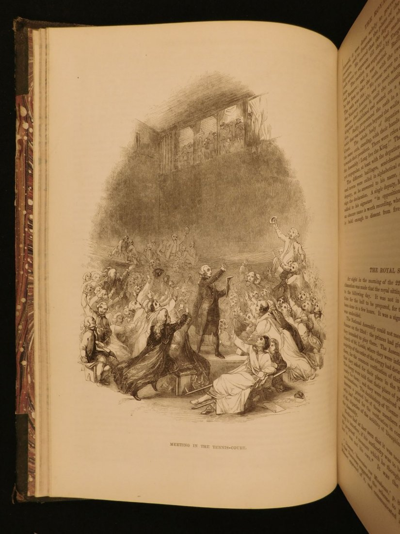 1850 1st ed France and Its Revolutions Illustrated - 5