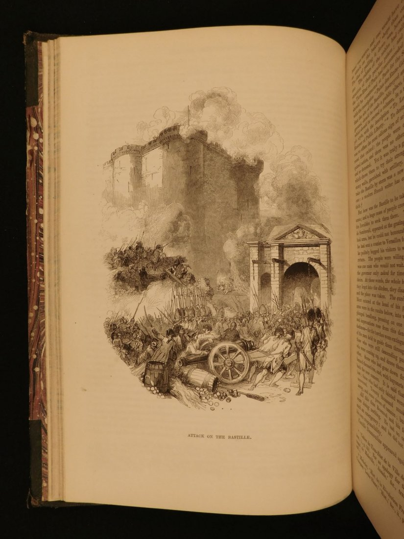 1850 1st ed France and Its Revolutions Illustrated - 6
