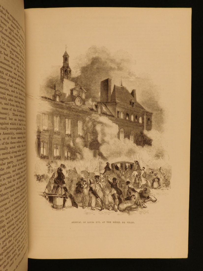 1850 1st ed France and Its Revolutions Illustrated - 7