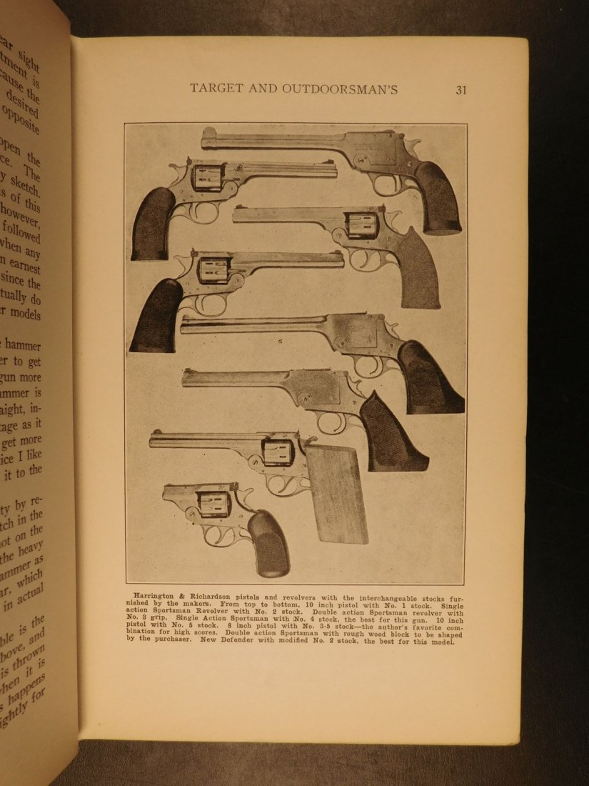 1935 GUNS 1st ed Pistols & Revolvers American Firearms - 6