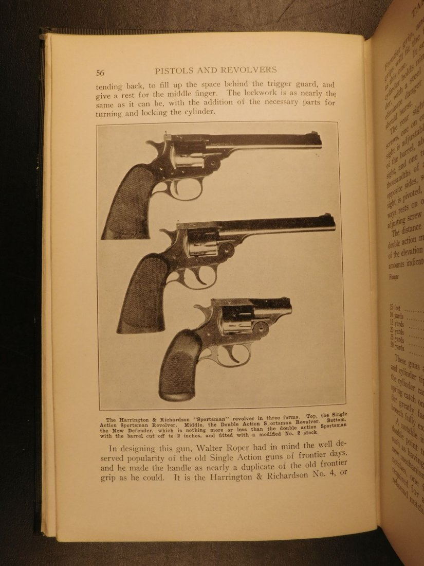 1935 GUNS 1st ed Pistols & Revolvers American Firearms - 7