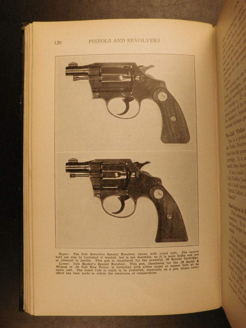 1935 GUNS 1st ed Pistols & Revolvers American Firearms - 8