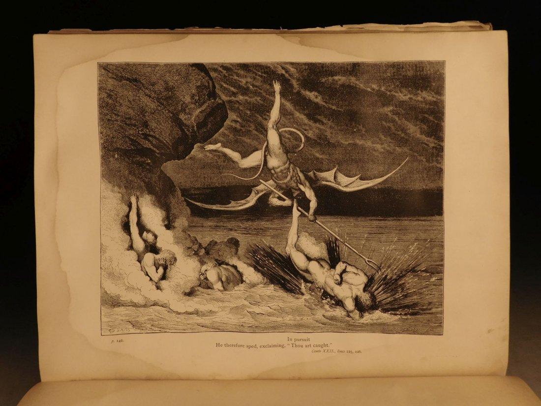 1887 Dante Alighieri Divine Comedy Gustave DORE ROCKWEL - 10