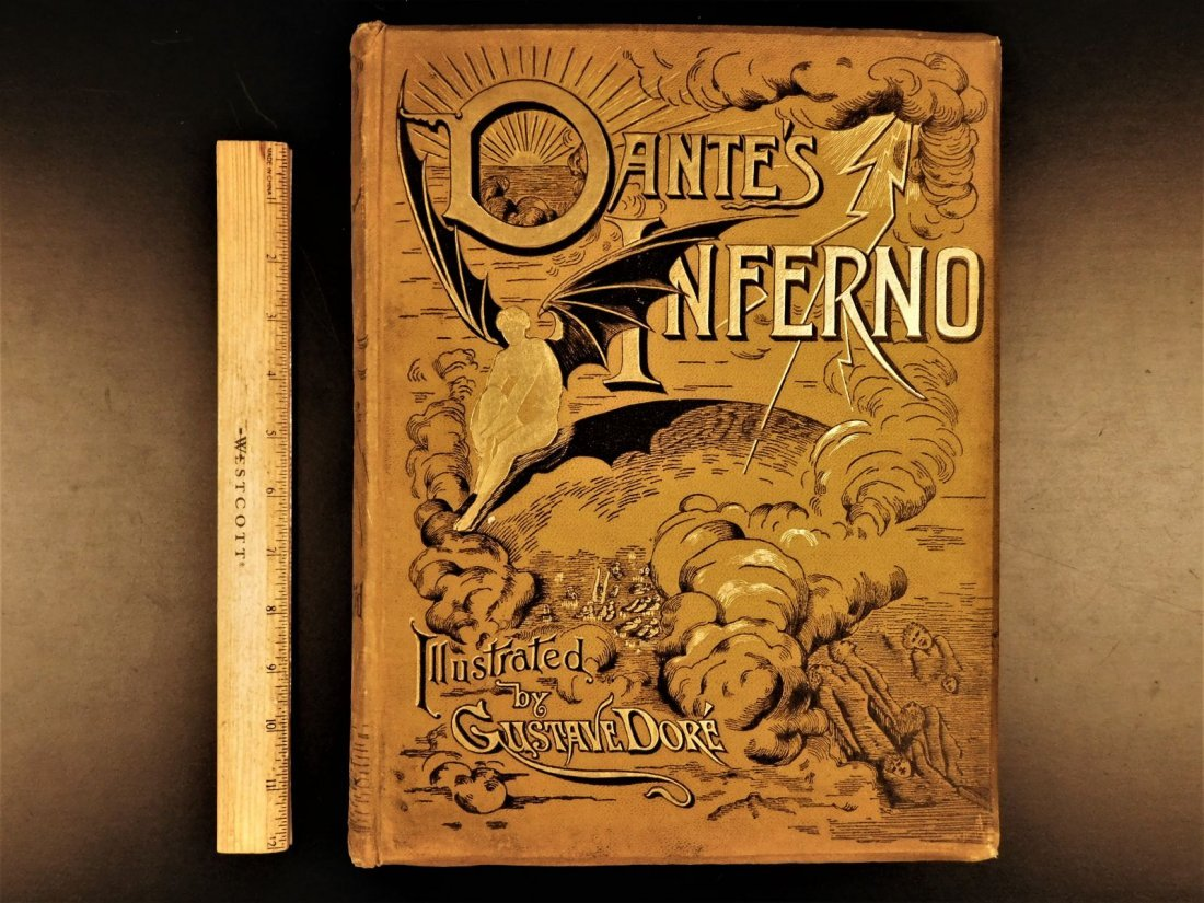 1887 Dante Alighieri Divine Comedy Gustave DORE ROCKWEL