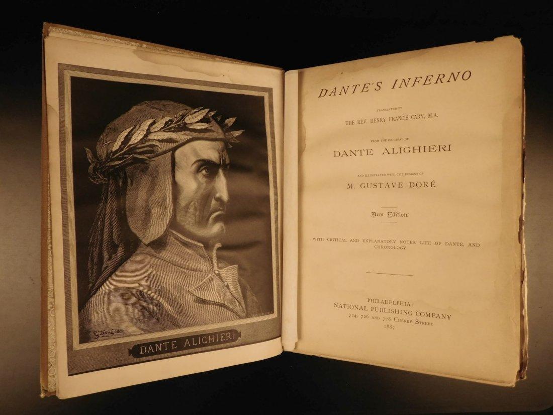 1887 Dante Alighieri Divine Comedy Gustave DORE ROCKWEL - 2