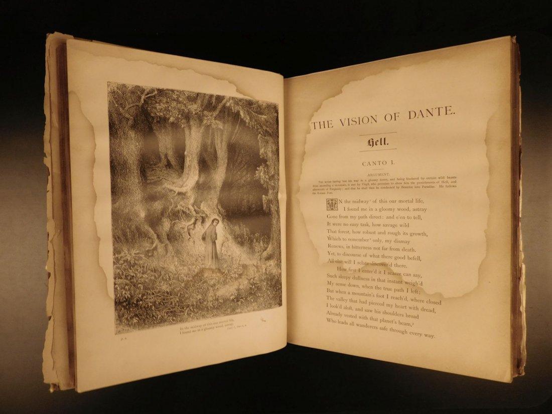 1887 Dante Alighieri Divine Comedy Gustave DORE ROCKWEL - 3