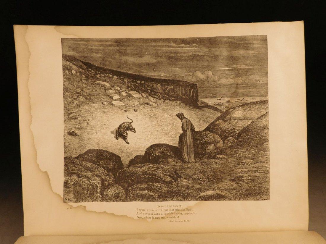1887 Dante Alighieri Divine Comedy Gustave DORE ROCKWEL - 4