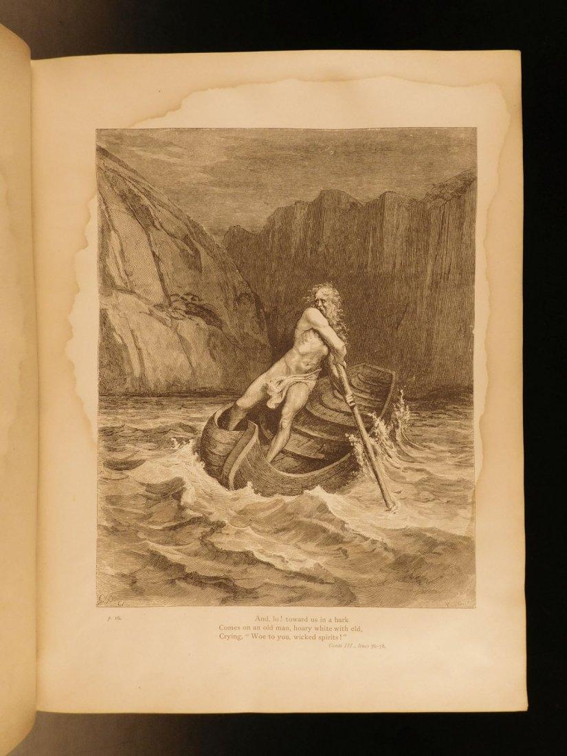 1887 Dante Alighieri Divine Comedy Gustave DORE ROCKWEL - 5