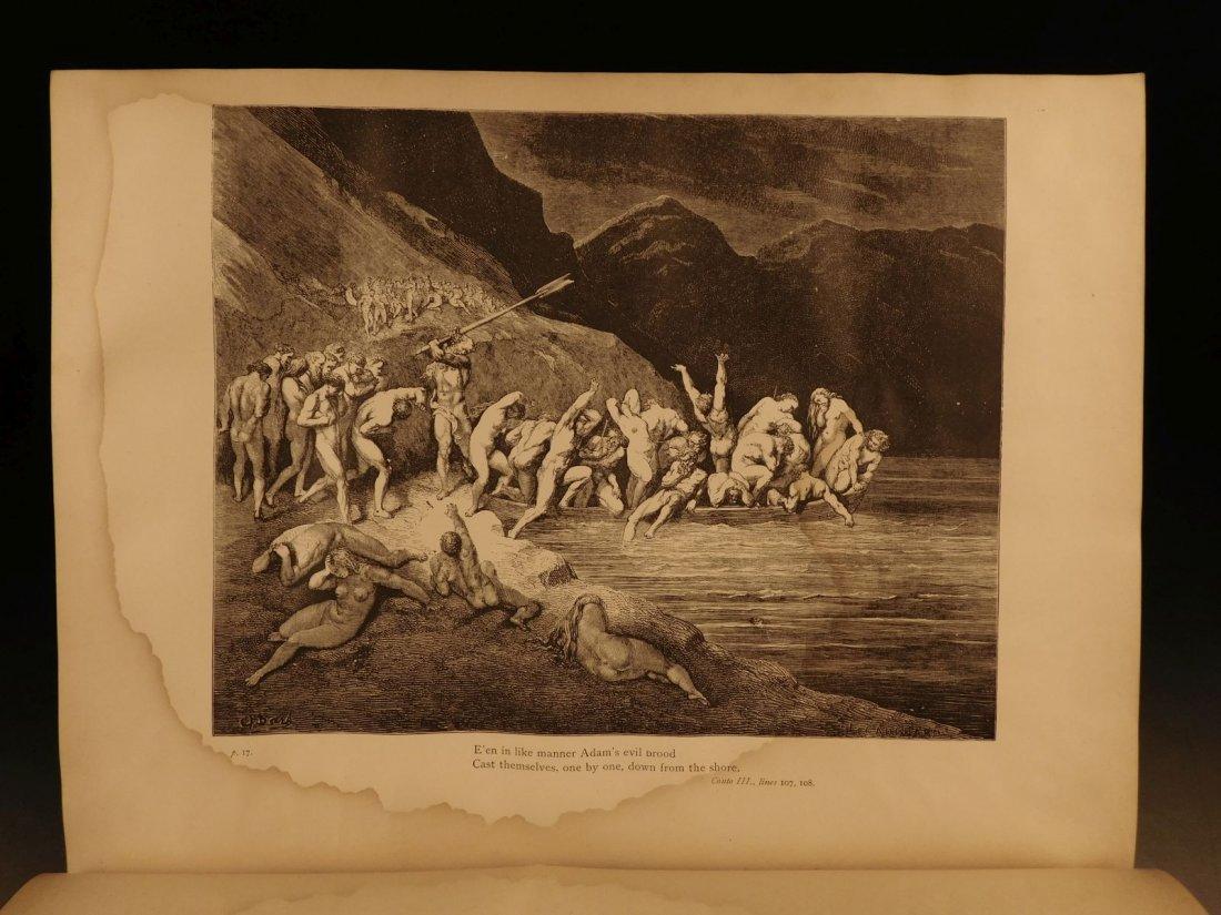 1887 Dante Alighieri Divine Comedy Gustave DORE ROCKWEL - 6