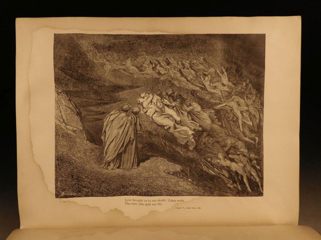 1887 Dante Alighieri Divine Comedy Gustave DORE ROCKWEL - 7