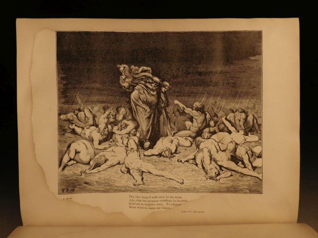 1887 Dante Alighieri Divine Comedy Gustave DORE ROCKWEL - 8