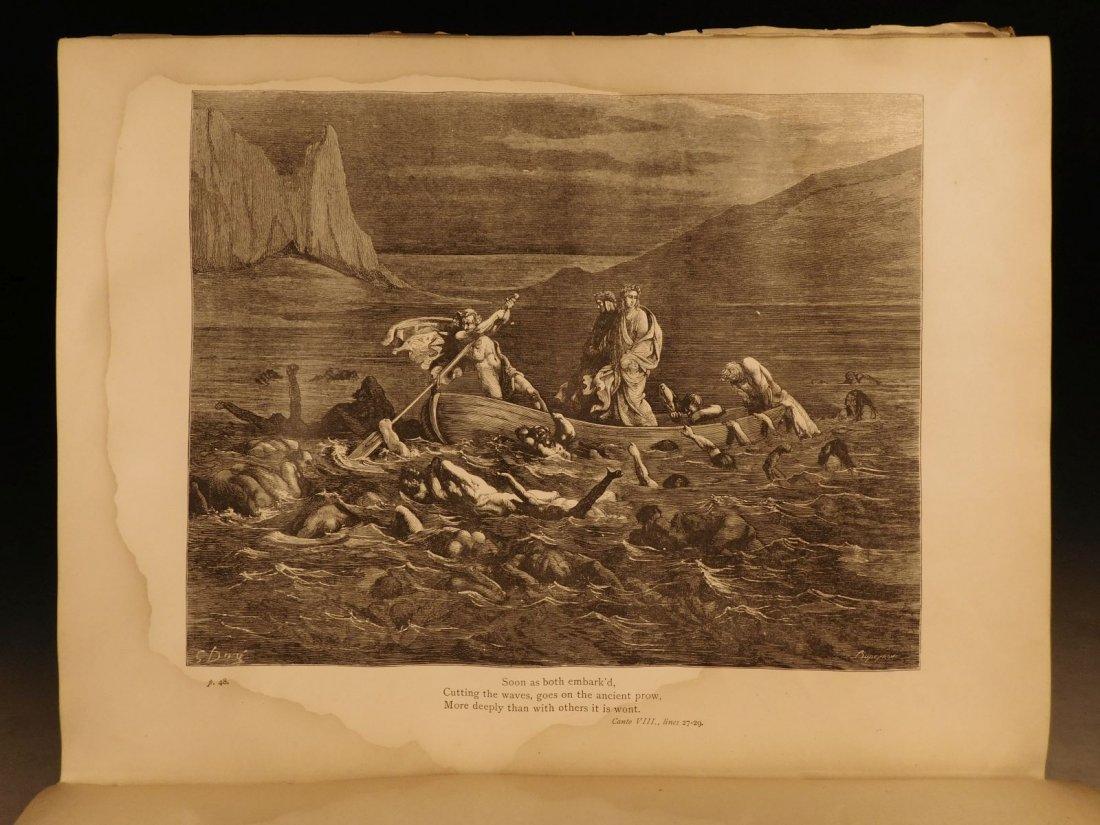 1887 Dante Alighieri Divine Comedy Gustave DORE ROCKWEL - 9