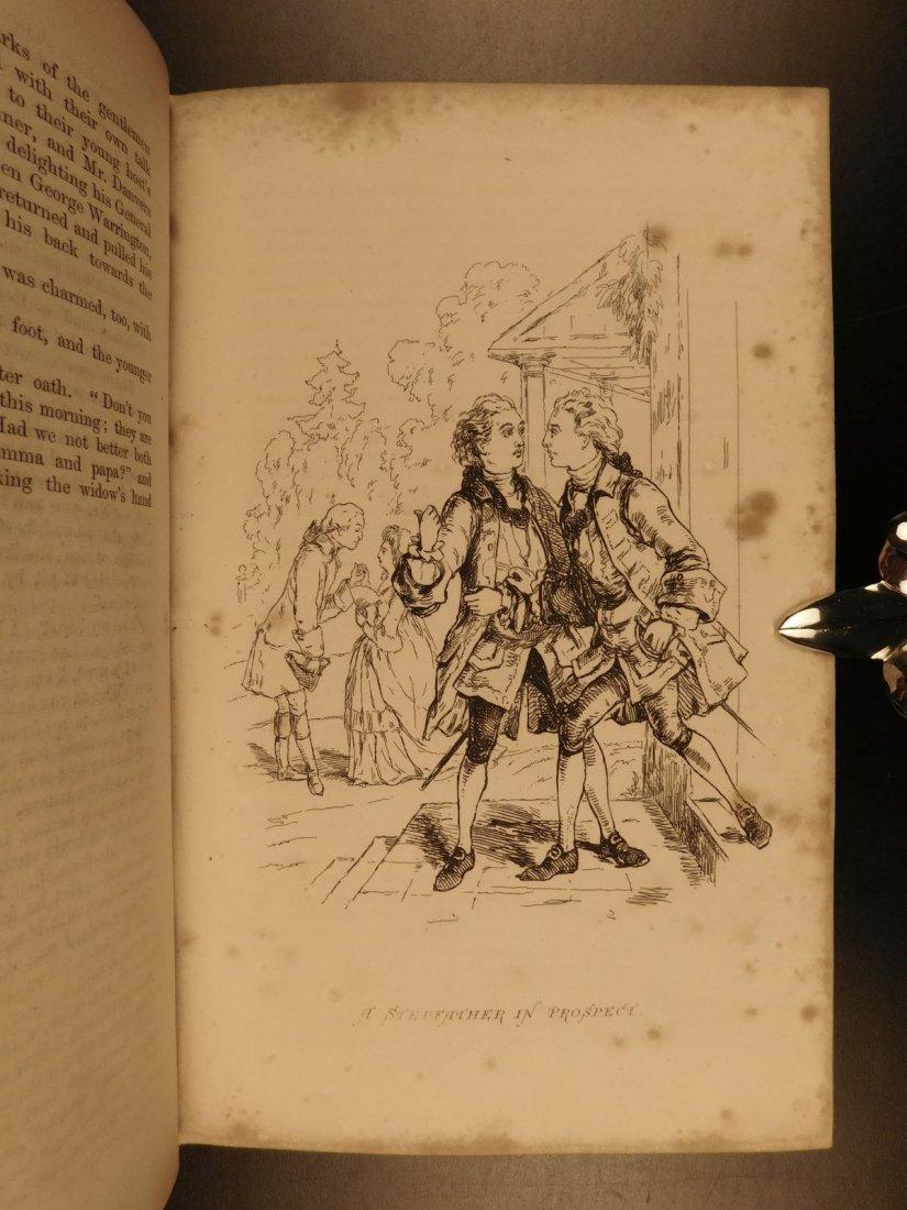1858 1st ed Virginians by William Thackeray Americana - 7
