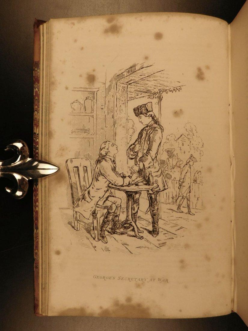 1858 1st ed Virginians by William Thackeray Americana - 8