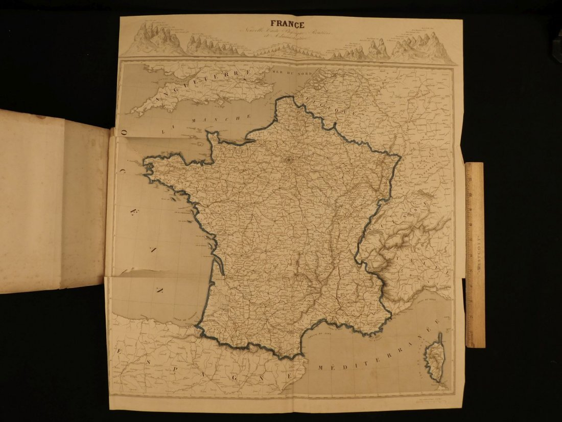 1835 ATLAS MAPS Cartography Navigation Voyages Illustra - 10