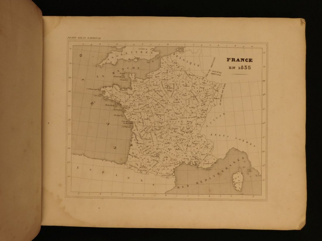 1835 ATLAS MAPS Cartography Navigation Voyages Illustra - 5