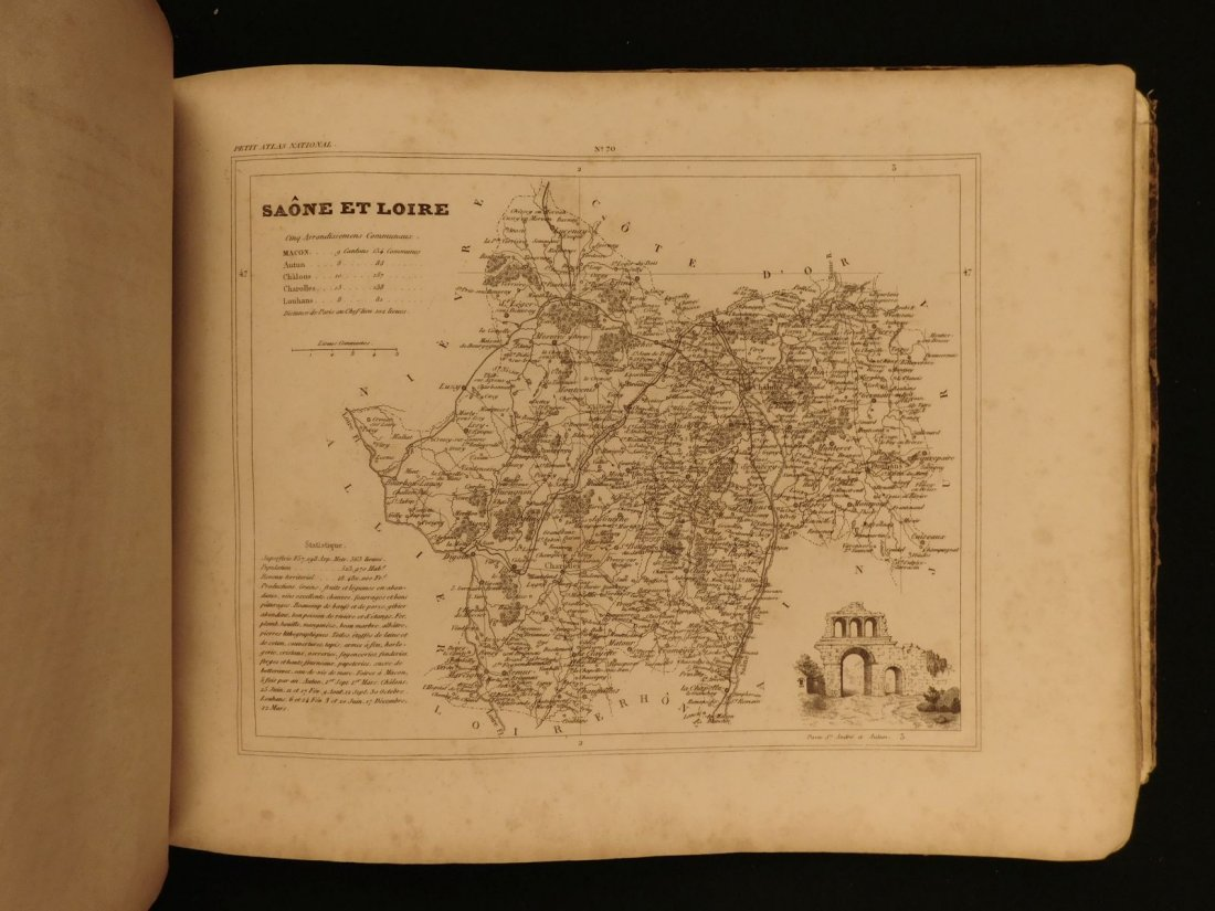 1835 ATLAS MAPS Cartography Navigation Voyages Illustra - 7