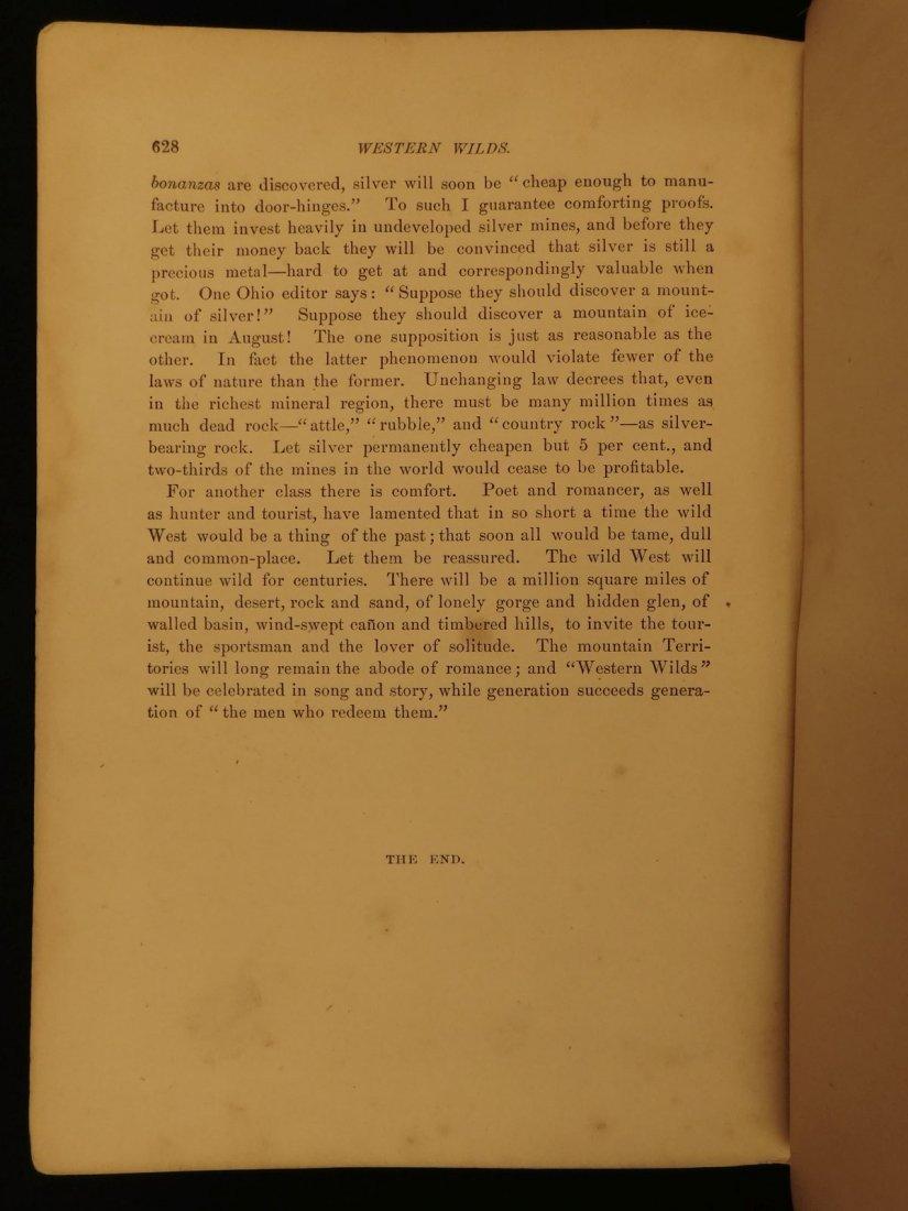 1877 1st ed Western Wilds Mormon Migration Native Ameri - 10